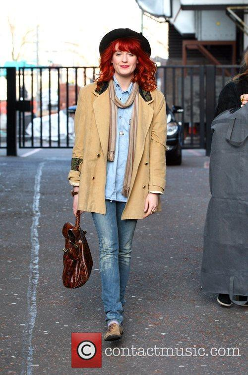 Florence Welch of Florence and the Machine leaves...