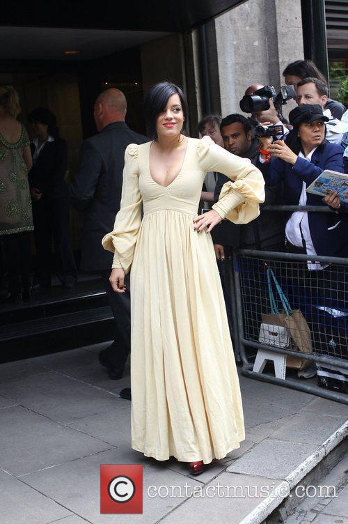 Lily Allen and Ivor Novello Awards 6