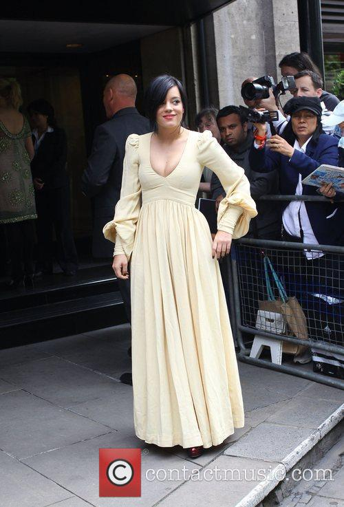 Lily Allen and Ivor Novello Awards 3