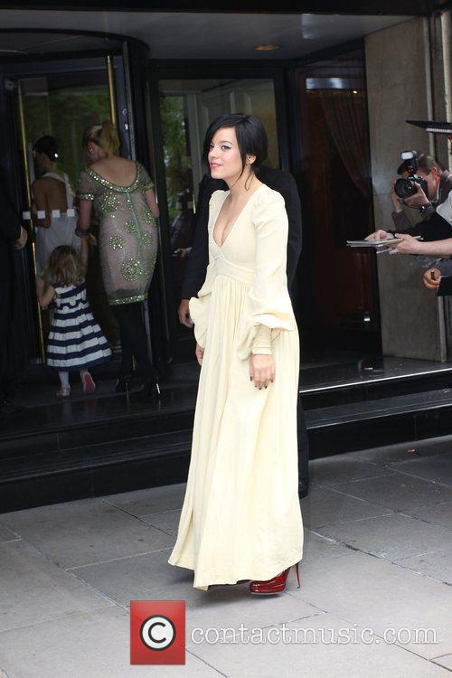 Lily Allen and Ivor Novello Awards 4