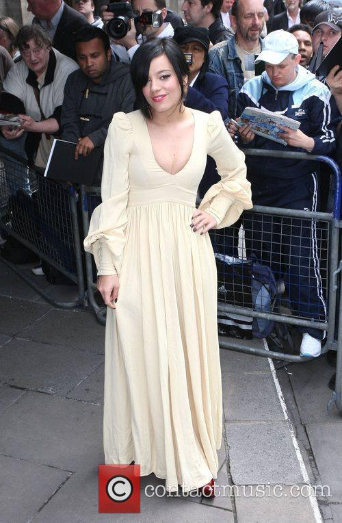 Lily Allen and Ivor Novello Awards 1