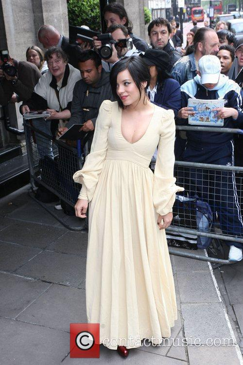 Lily Allen and Ivor Novello Awards 8