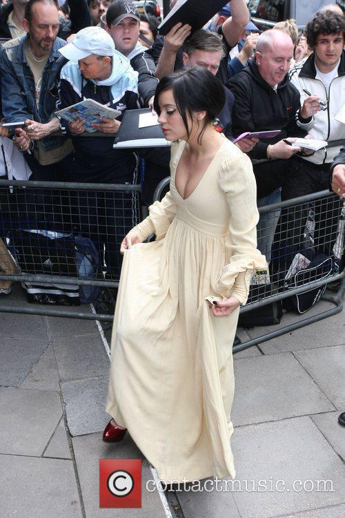 Lily Allen and Ivor Novello Awards 11