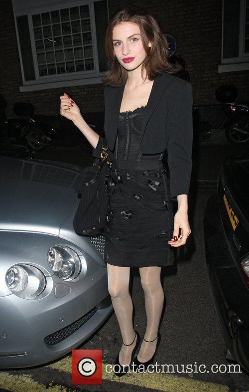 Tali Lennox at the Ivy club.