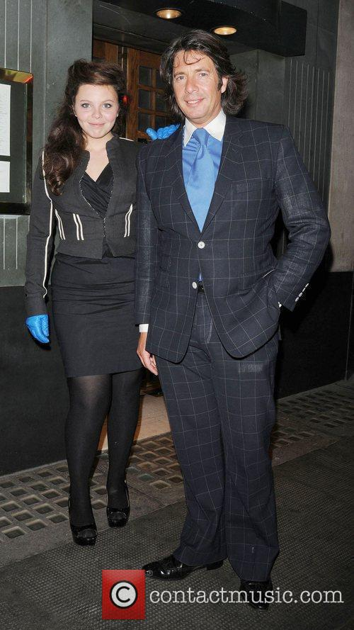 Laurence Llewelyn-Bowen eaving the The Ivy Club in...