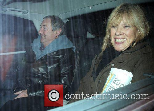 Pink Floyd drummer Nick Mason and his wife...