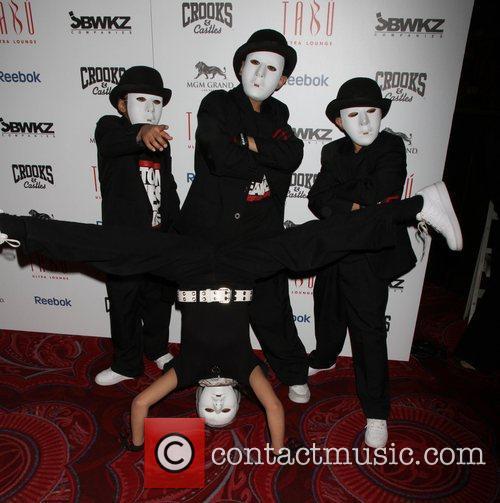The world famous dance crew Jabbawockeez present Mus.I.C....