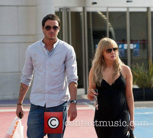 Jack Tweed and Chanelle Hayes spotted at the...