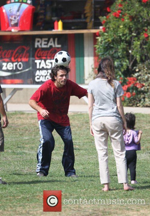 Adam Sandler's swife Jackie and daughter Sunny Madeline...