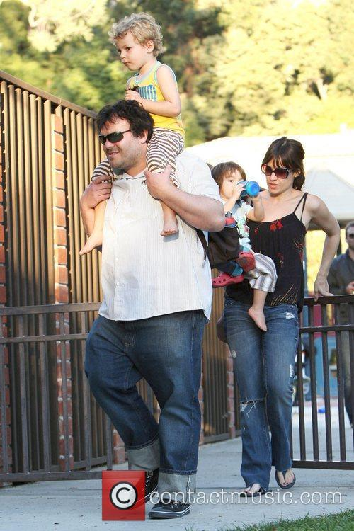 Jack Black, Black Thomas, David Black and Tanya Haden 11