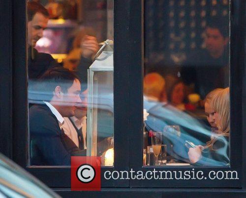 Chanelle Hayes sits opposite Jack Tweed looking at...