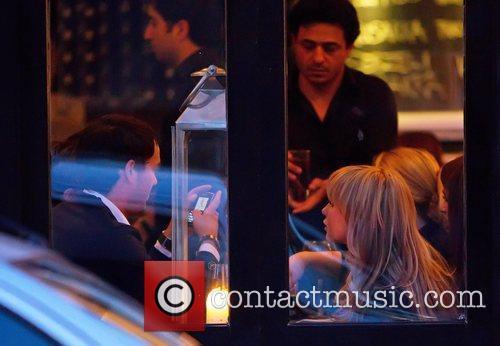Jack Tweed sits opposite Chanelle Hayes looking at...