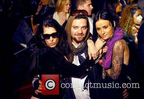 Bam Margera UK premiere of 'Jackass 3D' at...