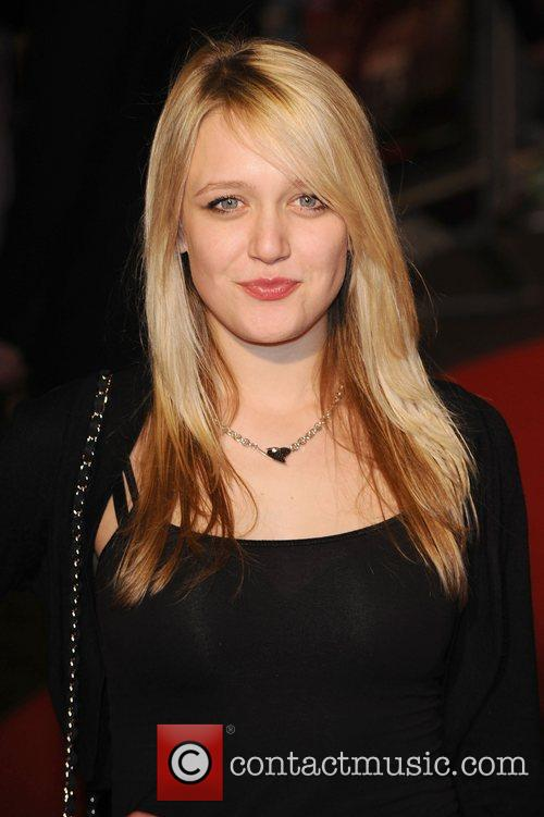 Emily Head UK premiere of 'Jackass 3D' at...