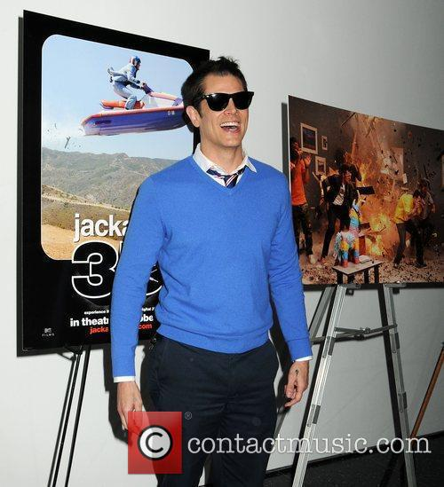 Johnny Knoxville World premiere of 'Jackass 3D' at...