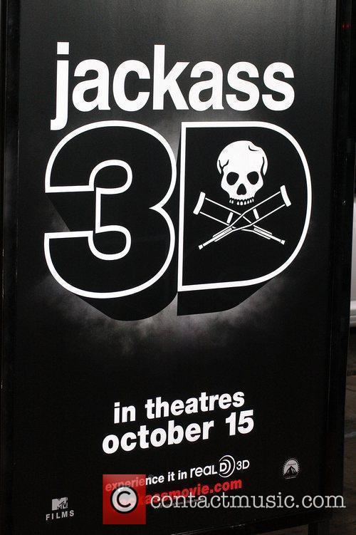 Atmosphere Los Angeles Premiere of 'Jackass 3D' at...