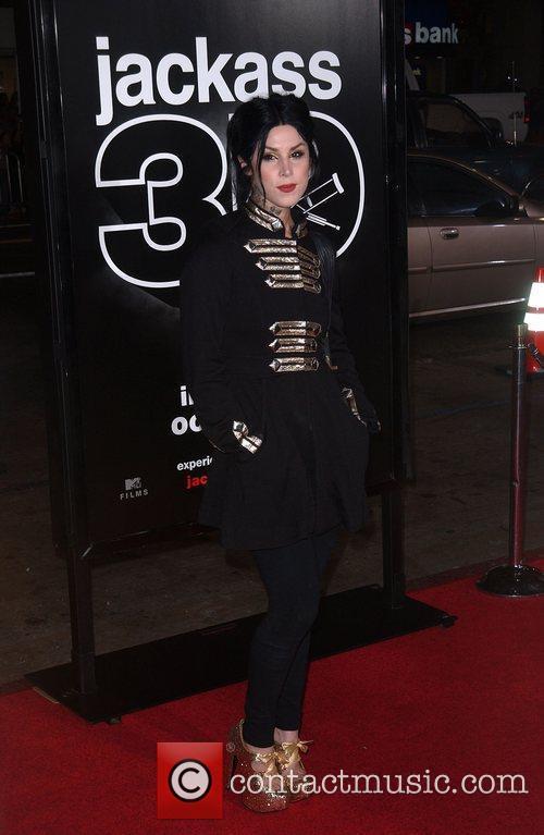 Kat Von D Los Angeles Premiere of 'Jackass...