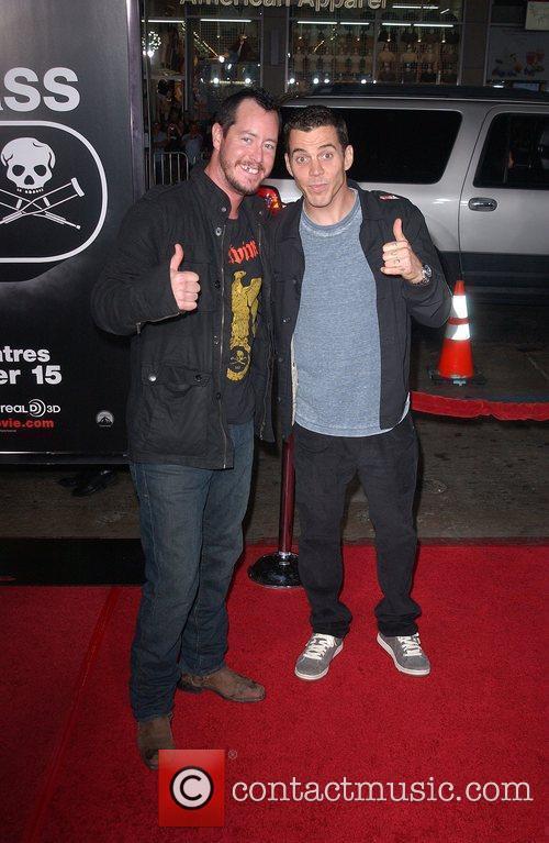 Ehren McGhehey and Steve O Los Angeles Premiere...