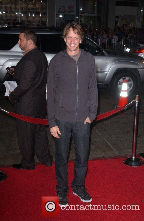 Tony Hawk Los Angeles Premiere of 'Jackass 3D'...