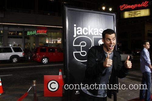 Steve O  Los Angeles Premiere of 'Jackass...