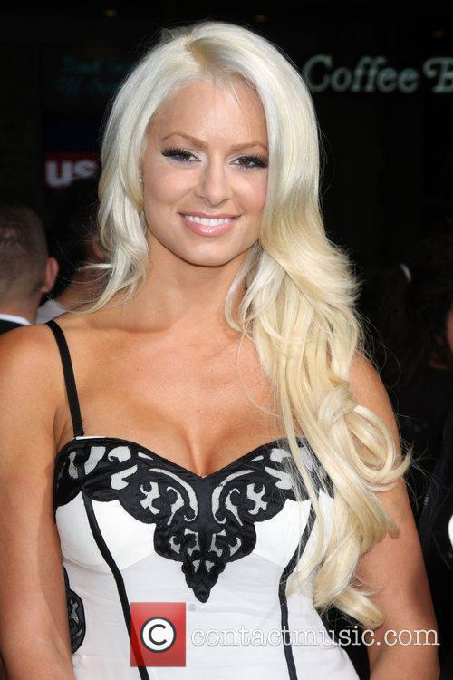 Maryse Ouellet Los Angeles Premiere of 'Jackass 3D'...