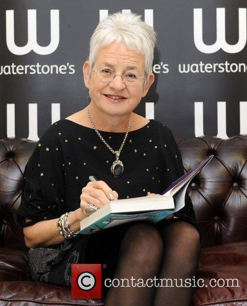 Jacqueline Wilson at a book signing for 'The...