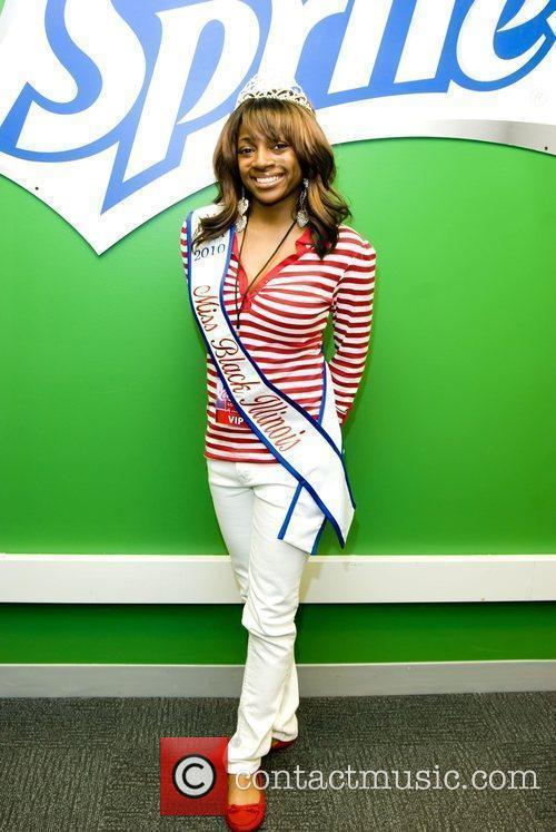 Miss Black Illinois Danielle Riley at the 103.5...