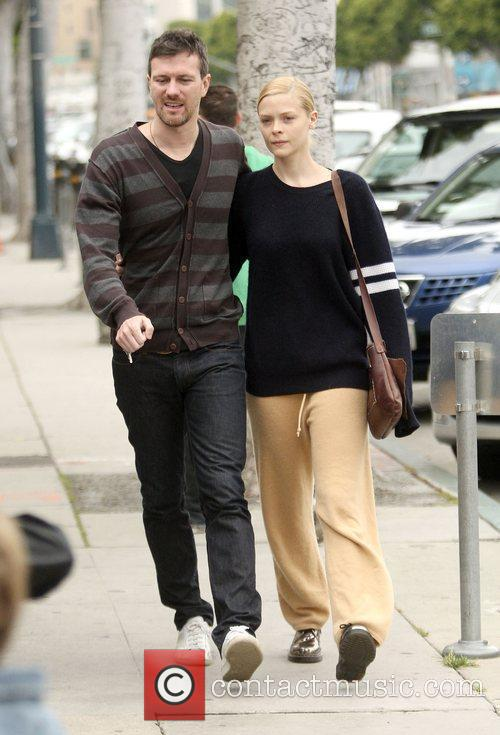 Actress Jaime King  out for a romantic...