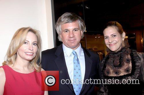 Gillian Miniter, Guest and Alexandra Lebenthal Book signing...