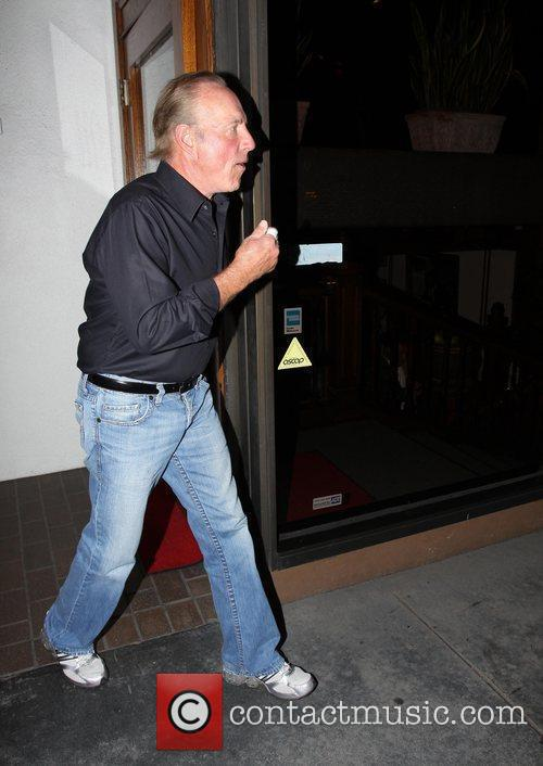 James Caan outside Madeo Restaurant in West Hollywood...