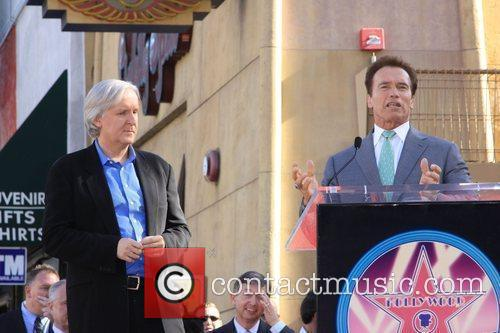 James Cameron and Arnold Schwarzenegger 3