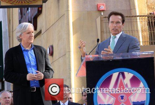 James Cameron and Arnold Schwarzenegger 5