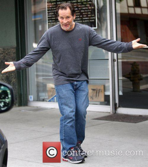 James Remar similes for photographers while out shopping...
