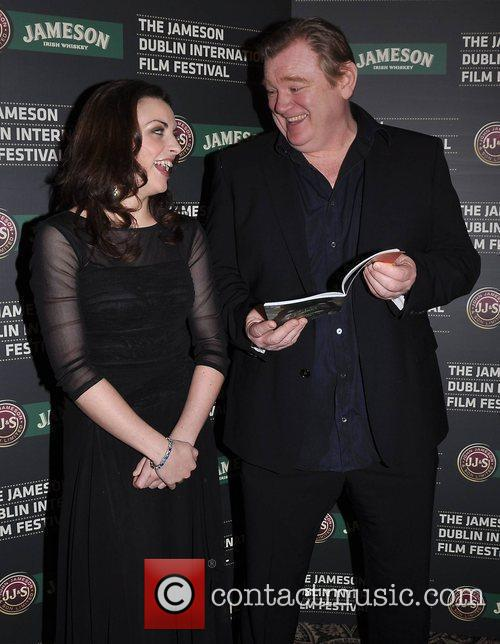 Nora-jane Noone and Brendan Gleeson 1