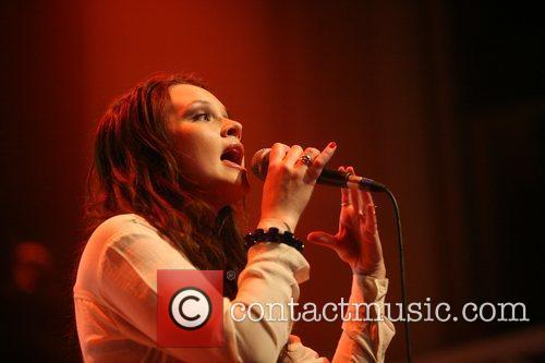 Lauren Pritchard performing at Paradiso, Amsterdam