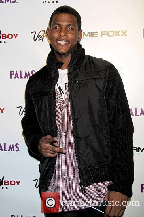 Marques Anthony attends Jamie Foxx's release party for...