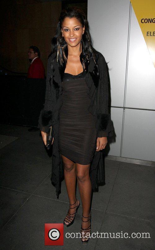 Claudia Jordan FoxxKing Entertainment's Post Grammy Event Hosted...