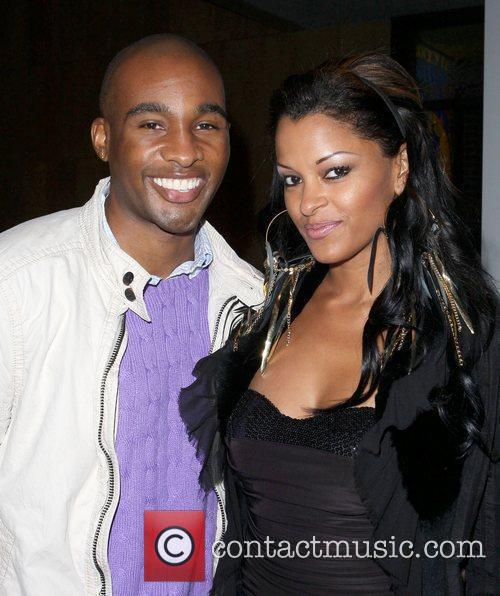 Claudia Jordan and Guest FoxxKing Entertainment's Post Grammy...
