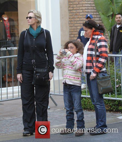 Jane Lynch, Haden Collette Ryan-Embry and Lara Embry...