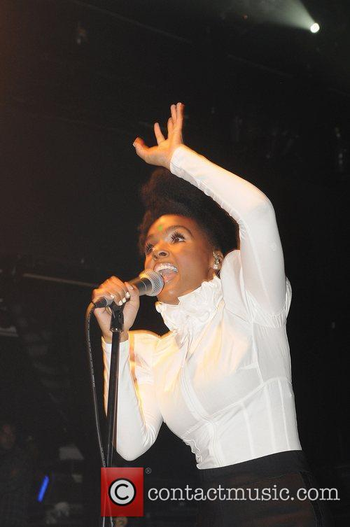Janelle Monae performs live on stage at KoKo.