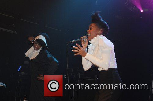 Janelle Monae performs live on stage at KoKo....