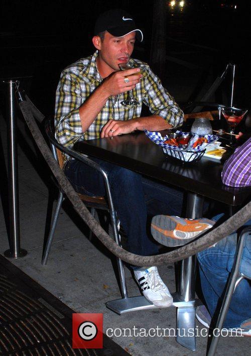 Jason Dottley at St Felex restaurant Los Angeles,...