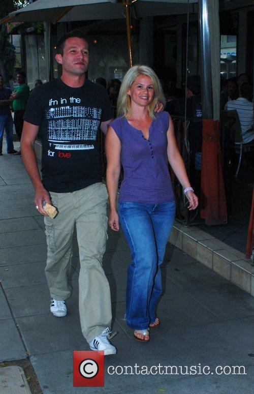 Jason Dottley  departs Basix Cafe with a...