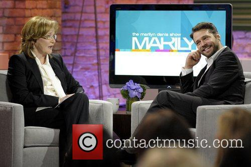 Marilyn Denis and Jason Priestley  appear on...