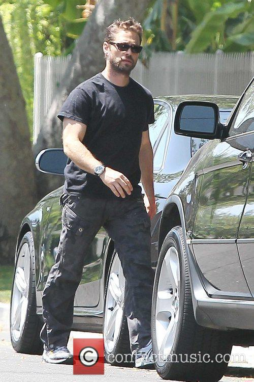 Jason Priestley out and about in Toluca Lake