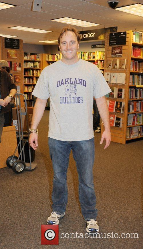 Comedian Jay Mohr at a book signing of...