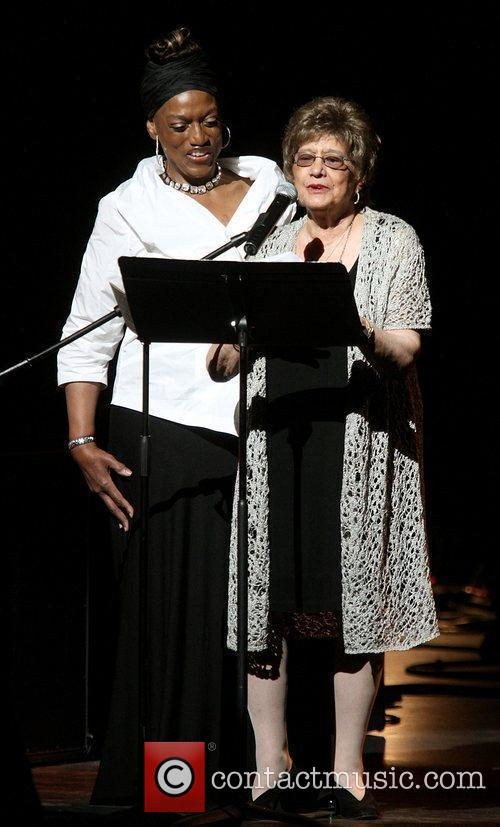 Jessye Norman and honoree Dr. Agnes Varis The...