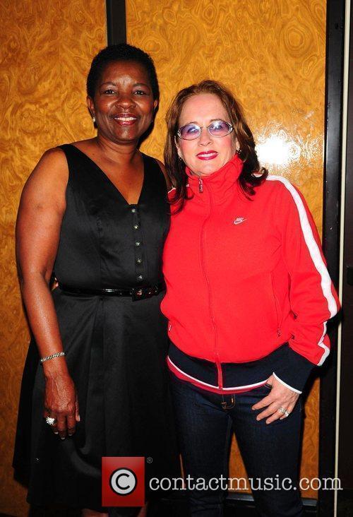 Mayor of City Miami Gardens Shirley Gibson and...