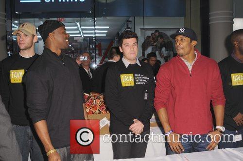 New York Pro Football players partner with Joseph...