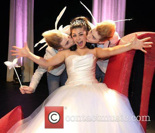 Jedward are unveiled as Cinderella's Fairy Godbrothers in...